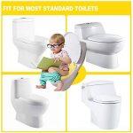 Gimars Réducteur de Toilette Pliable Bébé siège enfant réducteur wc voyage folding travel potty seat pour enfants bébé de la marque Gimars image 3 produit
