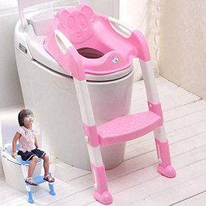 gotobuy- Just4baby Réducteur WC avec marche pour tout-petit Assistant Pot pour enfant de toilette pour bébé de la marque BabyHugs image 0 produit