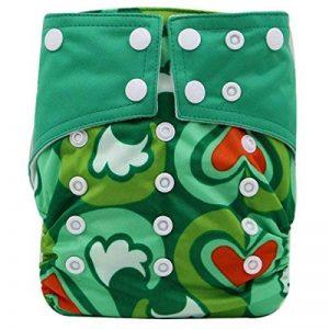 Happy Cherry Bébé Naissances Culottes d'apprentissage Lavables Pantalon Couche Avec Bouton Taille Réglable de la marque Happy Cherry image 0 produit