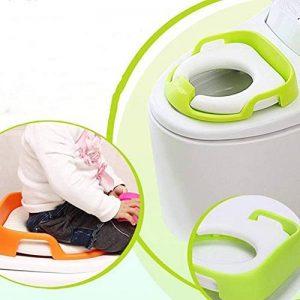 Hemore Assise d'apprentissage de la propreté pour garçons et filles Portable Convient pour la plupart des tailles de chaise de toilette Trainer enfant Housse de sièges Vert 1pièce Santé Baby Care de la marque Hemore image 0 produit