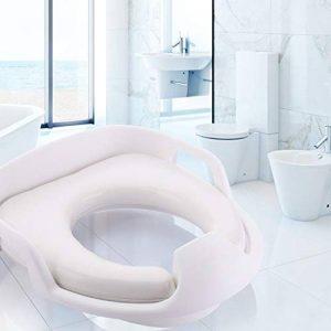 Hemore Assise d'apprentissage de la propreté pour garçons et filles Portable Convient pour la plupart des tailles de chaise de toilette Trainer enfant sièges Coque 1pièce Blanc Santé Baby Care de la marque Hemore image 0 produit