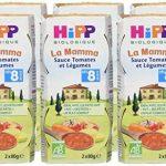 Hipp Biologique La Mamma Sauce Tomates et Légumes dès 8 mois - 12 Pots de 80 g de la marque Hipp-Biologique image 4 produit