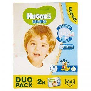 Huggies–Bimbo–Couches–Taille 5(12–18Kg)–2x 42couches de la marque Huggies image 0 produit