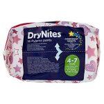 Huggies Drynites 4-7 ans Fille (17-30kg) - Sous-vêtements de Nuit Absorbants pour Enfants qui font Pipi au Lit - x32 Culottes (Lot de 2 Paquets de 16) de la marque Huggies image 4 produit