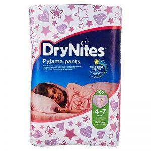 Huggies Drynites 4-7 ans Fille (17-30kg) - Sous-vêtements de Nuit Absorbants pour Enfants qui font Pipi au Lit - x32 Culottes (Lot de 2 Paquets de 16) de la marque Huggies image 0 produit