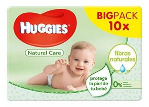 Huggies Lingettes Natural Care X10 Packs de la marque Huggies image 0 produit