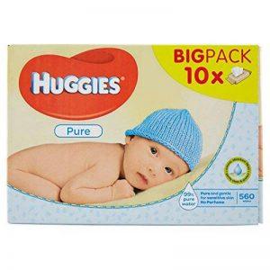 Huggies Lingettes Pure X10 Packs de la marque Huggies image 0 produit