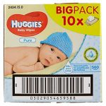 Huggies Lingettes Pure X10 Packs de la marque Huggies image 3 produit