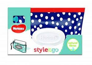 Huggies Lingettes Style Pochette 40 Lingettes - Lot de 4 - Modèle aléatoire de la marque Huggies image 0 produit