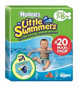 Huggies Little Swimmers Taille 3-4 (7-15 kg), Couche-Culotte de Bain pour Bébé x20 Culottes de la marque Huggies image 0 produit