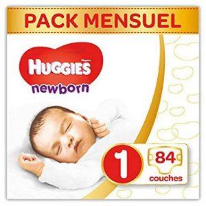 Huggies Newborn (Nouveaux-nés) - Couches Bébé Unisexe - Taille 1 (2-5 kg) x84 Couches de la marque Huggies image 0 produit
