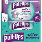 Huggies Pull Up pour WC d'entraînement Lingettes, Lot de 12 de la marque Huggies image 1 produit