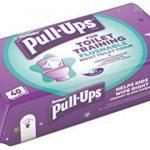 Huggies Pull Up pour WC d'entraînement Lingettes, Lot de 12 de la marque Huggies image 2 produit