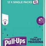 Huggies Pull Up pour WC d'entraînement Lingettes, Lot de 12 de la marque Huggies image 3 produit
