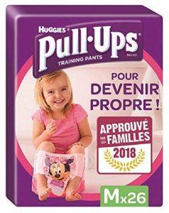 Huggies Pull-Ups Fille Taille 5/Medium (11-18 kg), Couche-culotte d'Apprentissage de la Propreté Di de la marque Huggies image 0 produit