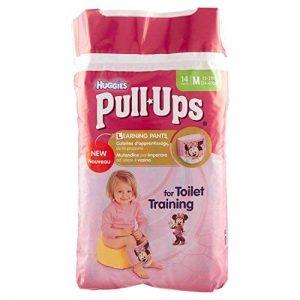 Huggies Pull-Ups Fille Taille 5/Medium (11-18 kg), Couche-culotte d'Apprentissage de la Propreté Disney Princesses x28 Culottes (Lot de 2 Paquets de 14 Culottes) de la marque Huggies image 0 produit
