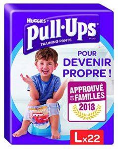 Huggies Pull-Ups Garçon Taille 6/Large (16-23 kg), Couche-Culotte d'Apprentissage de la Propreté Disney Cars x44 (lot de 2 paquets de 22 culottes) de la marque Huggies image 0 produit