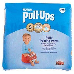 Huggies Pull-Ups Garçon Taille 4/Small (8-15 kg), Couche-Culotte d'Apprentissage de la Propreté Di de la marque Huggies image 0 produit