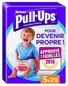 Huggies Pull-Ups Garçon Taille 4/Small (8-15 kg), Couche-culotte d'Apprentissage de la Propreté Disney Cars x29 Culottes de la marque Huggies image 0 produit