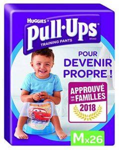 Huggies Pull-Ups Garçon Taille 5/Medium (11-18 kg), Couche-culotte d'Apprentissage de la Propreté de la marque Huggies image 0 produit