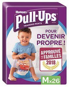 Huggies Pull-Ups Garçon Taille 5/Medium (11-18 kg), Couche-Culotte d'Apprentissage de la Propreté Disney Cars x52 (lot de 2 paquets de 26 culottes) de la marque Huggies image 0 produit