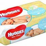 Huggies Pure 18 Packs de 56 lingettes (soit 1008 Lingettes) de la marque Huggies image 4 produit