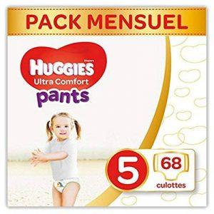 Huggies - Ultra Comfort - Culottes Bébé Unisexe - Taille 5 (12-17 kg) x68 Culottes de la marque Huggies image 0 produit