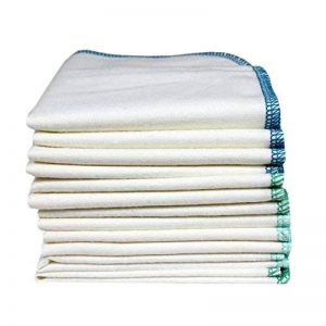 ImseVimse Gant de toilette CBC, vert/bleu Lot de 12 de la marque Imse Vimse image 0 produit