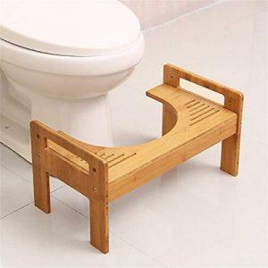 Jeteven Tabouret de Toilettes en Bois Repose-Pied Médical WC Position Assise Saine Contre Hémorroïde Constipation de la marque Jeteven image 0 produit
