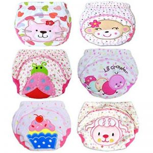 JT-Amigo Lot de 6 culottes d'apprentissage Bébé Fille de la marque JT-Amigo image 0 produit