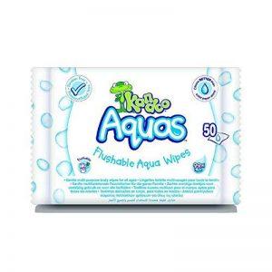 KANDOO Pack de 50 Lingettes Toilette Multi-Usage 99% Eau Aquas - Lot de 6 de la marque KANDOO image 0 produit