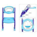 Keplin Pot Abattant WC réglable pour bébé Kid Réducteur WC avec échelle Marchepied pour fille et garçon de la marque KEPLIN image 1 produit