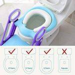 Keplin Pot Abattant WC réglable pour bébé Kid Réducteur WC avec échelle Marchepied pour fille et garçon de la marque KEPLIN image 4 produit