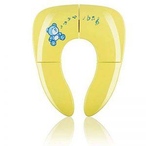 KIDUKU® Siège de toilette pliable pour enfant/bébé | Réducteur de toilette de voyage portable | siège de toilette pour enfant universel | pliable | sac d'hygiène inclus de la marque KIDUKU image 0 produit