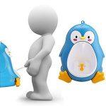 KINGDUO Urinoir Tout-Petits Pots Garçons Pipi Formateur Enfants Penguin Amovible Toilette Salle De Bain-Bleu de la marque KINGDUO image 1 produit