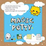 Kit d'apprentissage Magic Potty avec Super + 4 toilettes stickers lieblingstiere + Coccinelle de la marque By Diana image 1 produit