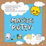 Kit d'apprentissage Magic Potty avec Super + 4toilettes stickers lieblingstiere + Coccinelle de la marque By Diana image 1 produit