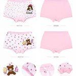 LeQeZe De 6 Bébé Fille Panty Culotte Filles Shorty Enfants Coton Boxer Slip Pantalon sous-Vêtement 2-11 Ans de la marque LeQeZe image 2 produit
