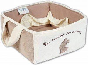 Les Chatounets Ourson Chic Corbeille de Toilette Famille de la marque Les Chatounets image 0 produit