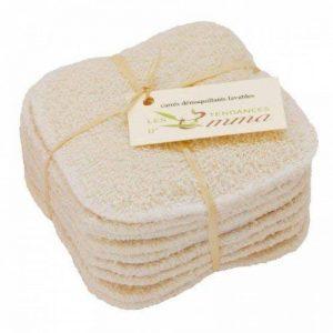 LES TENDANCES D'EMMA 10 Disques en coton bio à démaquiller lavables de la marque Les Tendances d'Emma image 0 produit