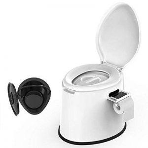 LI JING SHOP - La chaise portative de toilette peut se déplacer pour des enfants et des femmes enceintes à l'intérieur du canon X1 Environmental PP Résine 41X50X39cm Couleur: Blanc ( Couleur : Non-slip rubber ring ) de la marque Toilet chair image 0 produit