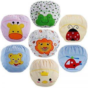 Lictin Culottes d'apprentissage Bébé, Culotte Bébé Fille en 100% Coton pour Les Bébé 1.5 à 3 Ans - Lot DE 7 de la marque Lictin image 0 produit