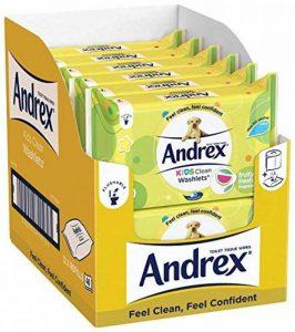 Lingettes Andrex pour enfants, lot de 12 de la marque Andrex image 0 produit