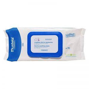Lingettes dermo-apaisantes parfumées de la marque Mustela image 0 produit