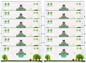 Lingettes nettoyantes Pack de Voyage Pogi's - 240 Lingettes désodorisantes pour Chien - Hypoallergénique, biodégradables, Non parfumées, Naturelles de la marque Pogi's Pet Supplies image 0 produit