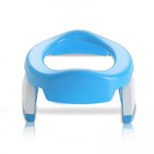 Lorcoo Pot de voyage - réducteur de toilette pour enfant - Bleu/Blanc de la marque Lorcoo image 0 produit