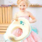 Lot de 2Tega Baby Ours en peluche Unisexe Pour enfant Toilettes sièges de formation avec fonction de grip de sécurité avec l'image de 3Peluche Nounours Couleur Beige de la marque Tega Baby image 4 produit