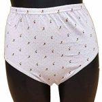 Lot de 3 culottes coton confort taille haute ceinture confort gousse éponge assorties couleurs selon arrivage de la marque Lady Perfect image 2 produit