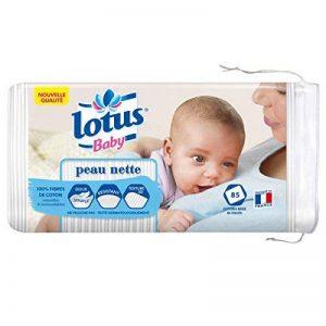 Lotus Baby Peau Nette - Coton bébé (lot de 5 paquets de 85 cotons) de la marque lotus-Baby image 0 produit