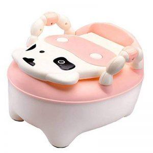 MagiDeal Pot de Toilette pour Bébé Siège de Chaise d'Entraînement Motif Vache Mignon Enfant à Tiroir Amovible de la marque MagiDeal image 0 produit